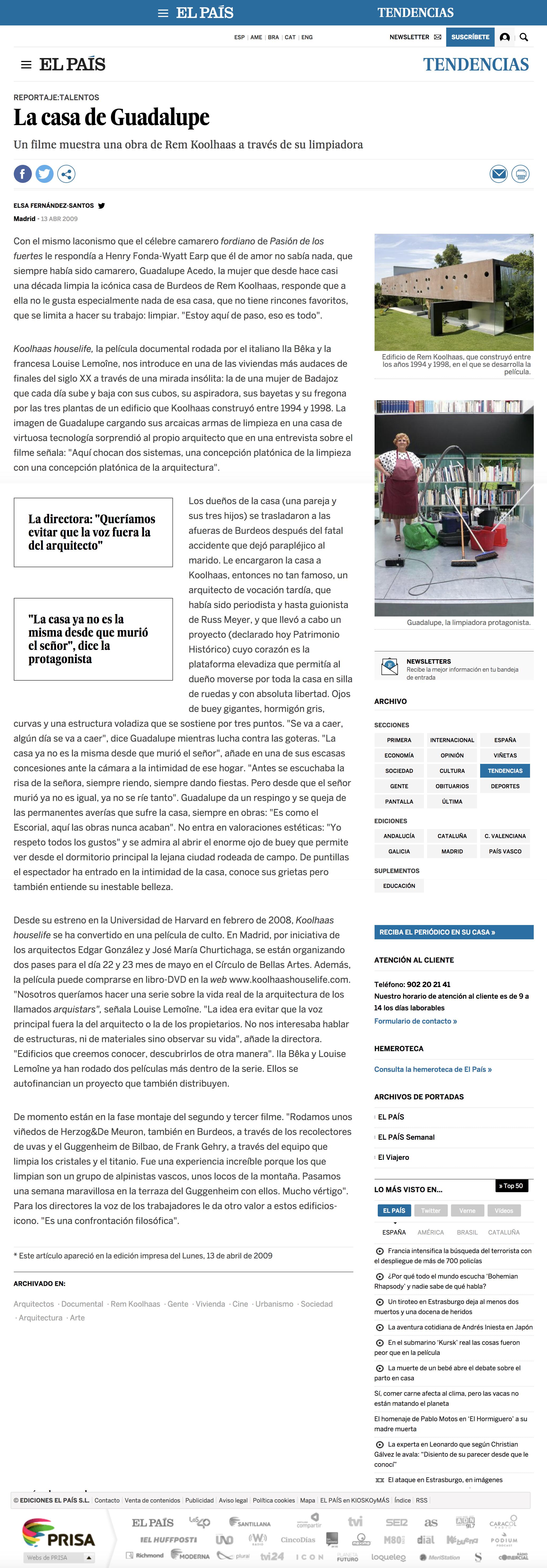 Bêka & Lemoine - Press